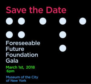 Foreseeable Future Foundation Gala Flyer